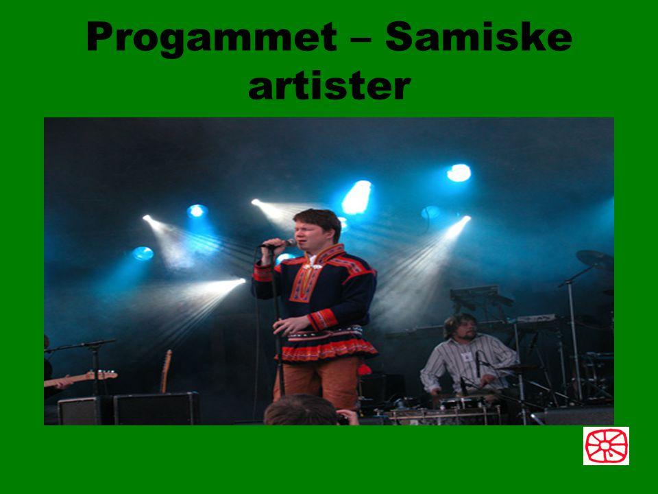 Progammet – Samiske artister