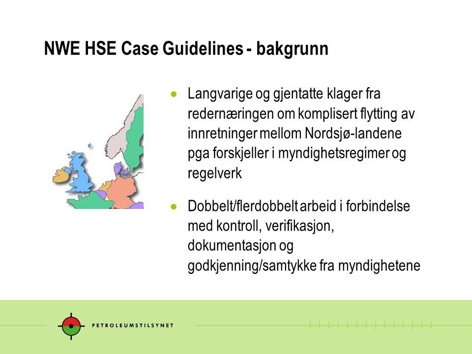  Langvarige og gjentatte klager fra redernæringen om komplisert flytting av innretninger mellom Nordsjø-landene pga forskjeller i myndighetsregimer o