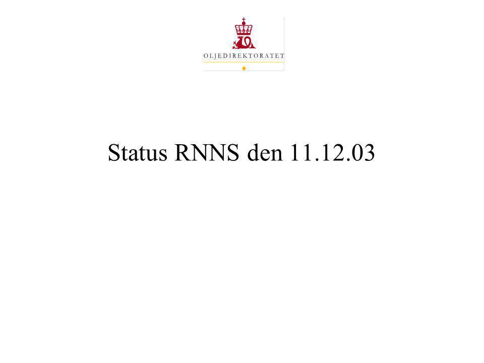 Status RNNS den 11.12.03