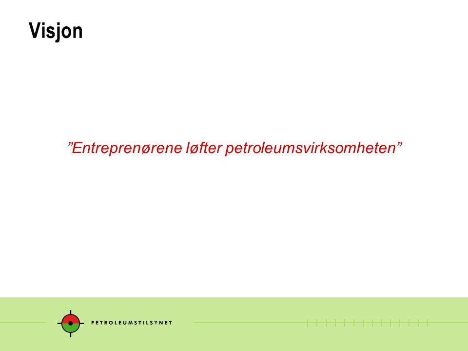 """Visjon """"Entreprenørene løfter petroleumsvirksomheten"""""""