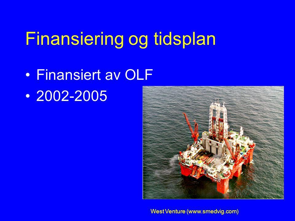 Kvantifisere oljetåke/oljedamp Database ca 2000 målepunkter Statistiske analyser: –Konsentrasjon og tidstrender –Modeller for ulike scenarier –Intervensjoner –Flytende/faste rigger –Målemetoden