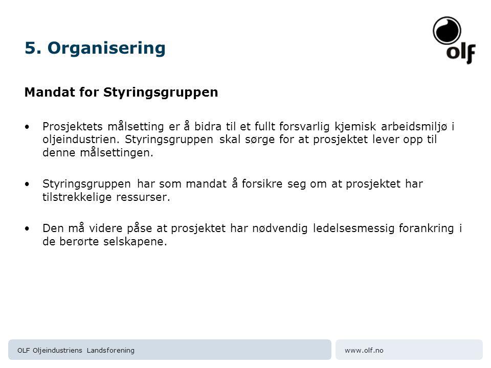 www.olf.noOLF Oljeindustriens Landsforening 5.