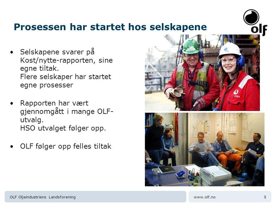 www.olf.noOLF Oljeindustriens Landsforening6 3.