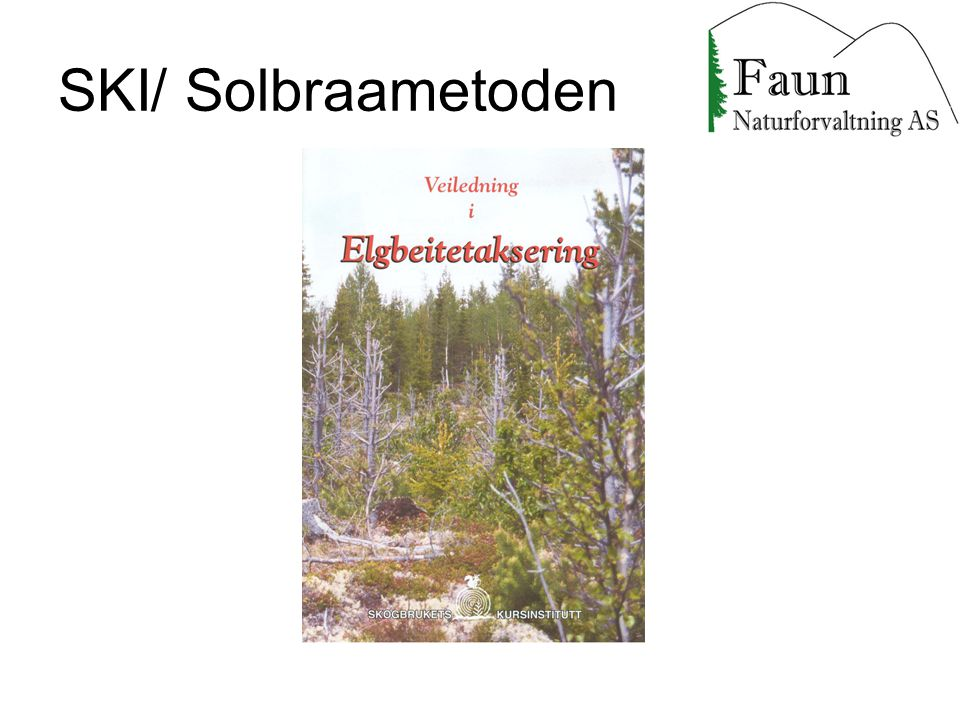 SKI/ Solbraametoden