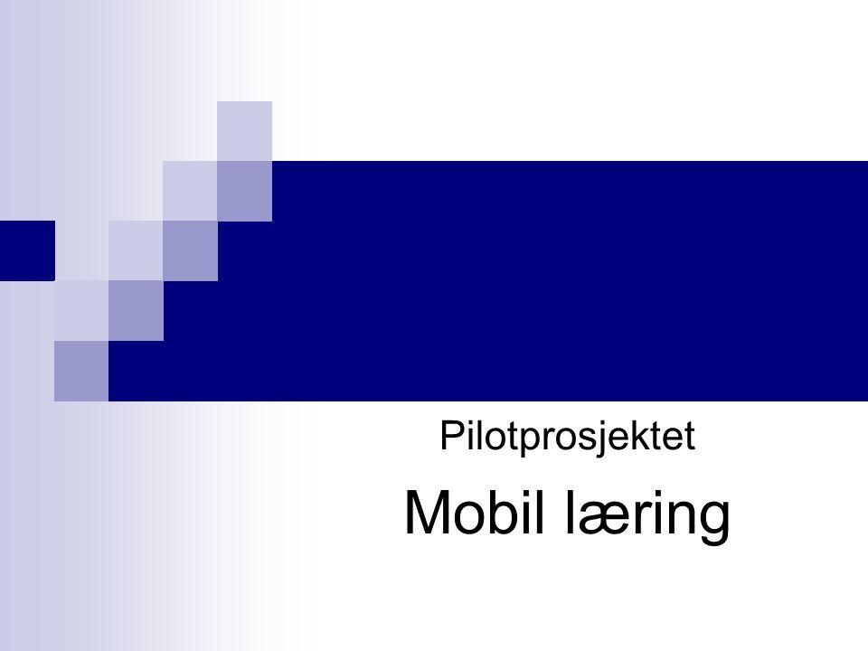 Medarbeidere Ved NTNU, IDI;  Mobil læring: faglig; Arvid Staupe teknisk; Rolf Harald Dahl Alf Høiseth Webmaster og teknisk: Christian TellefsenChristian Tellefsen