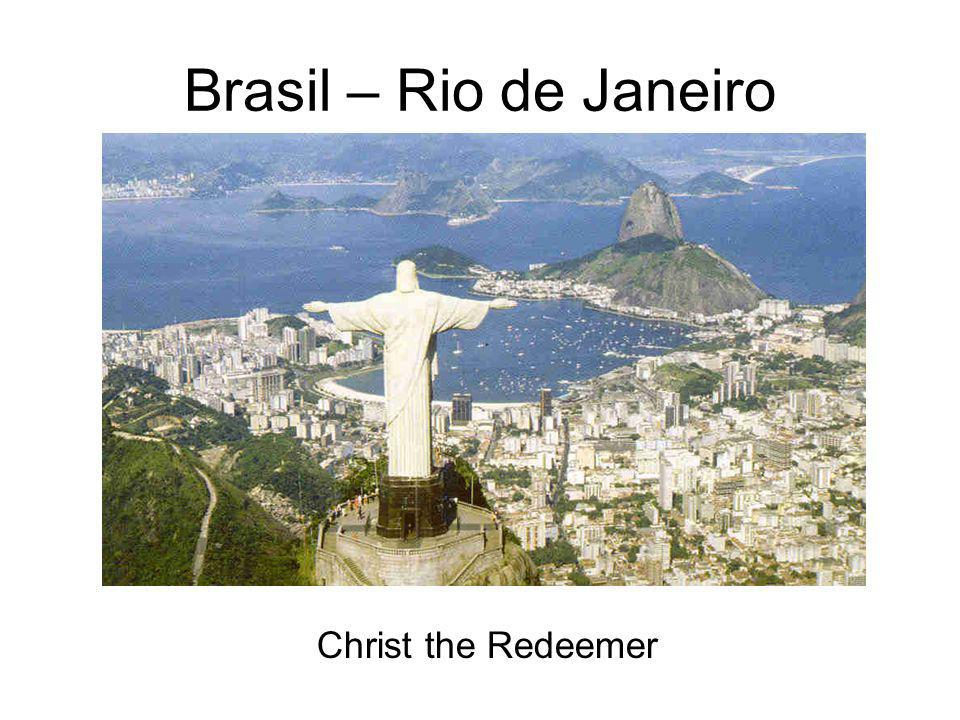 Brasil – Rio de Janeiro Christ the Redeemer