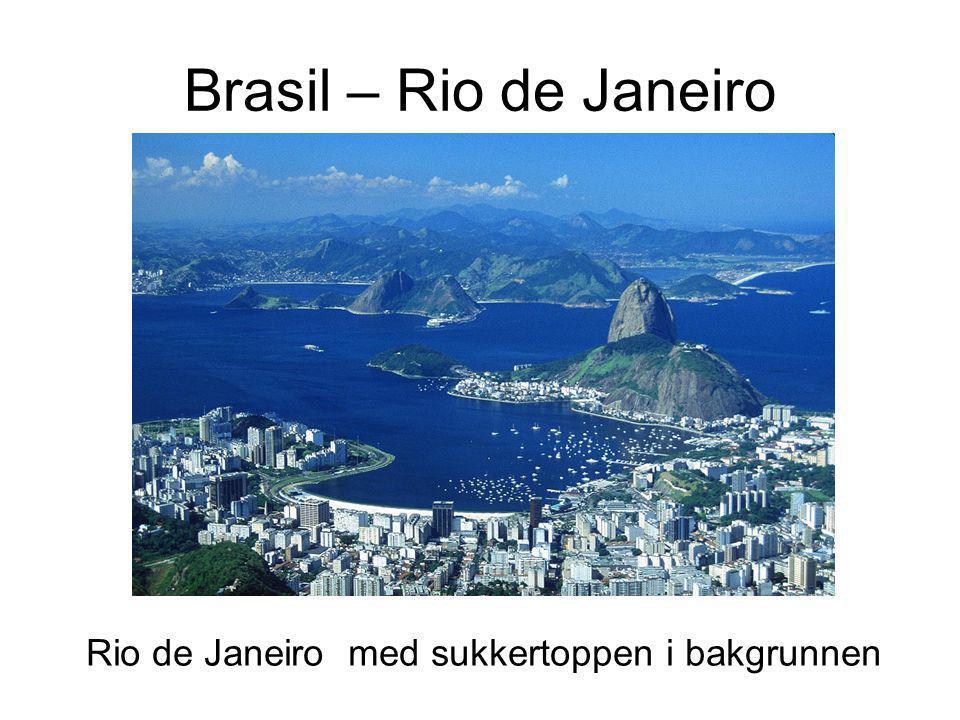 Brasil – Rio de Janeiro Rio de Janeiro med sukkertoppen i bakgrunnen