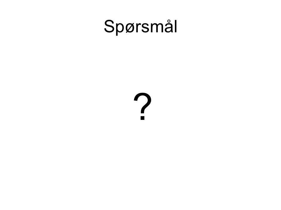 Spørsmål