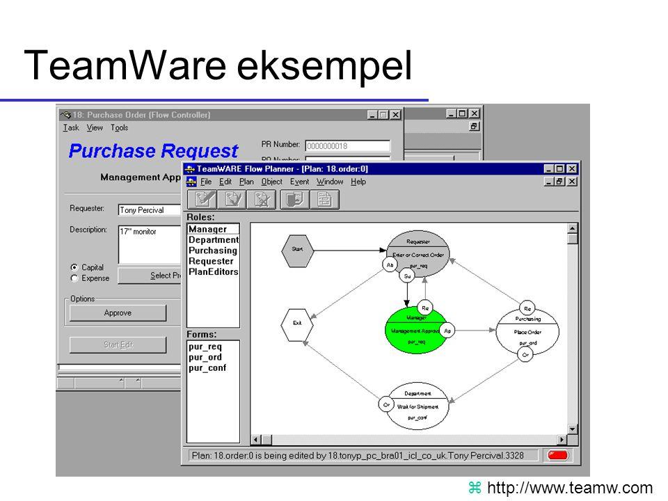 TeamWare eksempel z http://www.teamw.com
