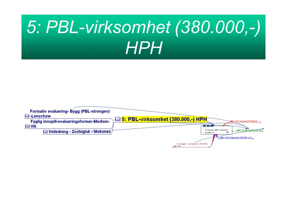 5: PBL-virksomhet (380.000,-) HPH
