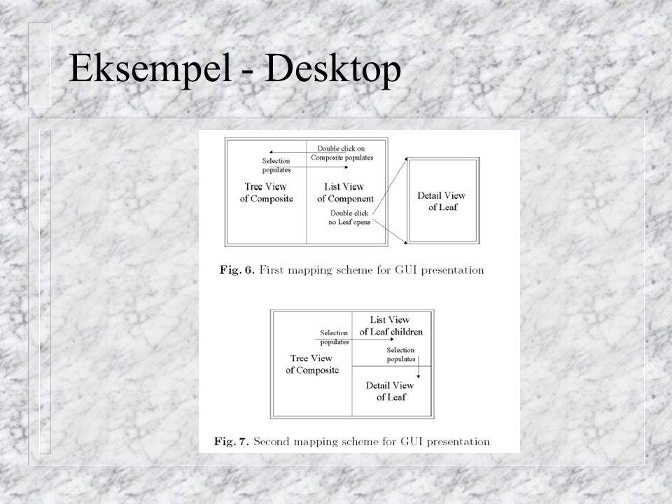 Eksempel - Desktop
