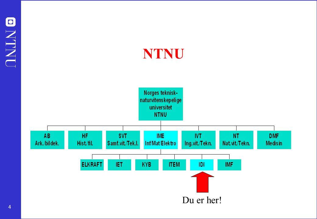 25 Du er ønsket! Velkommen til Trondheim! Velkommen til NTNU!