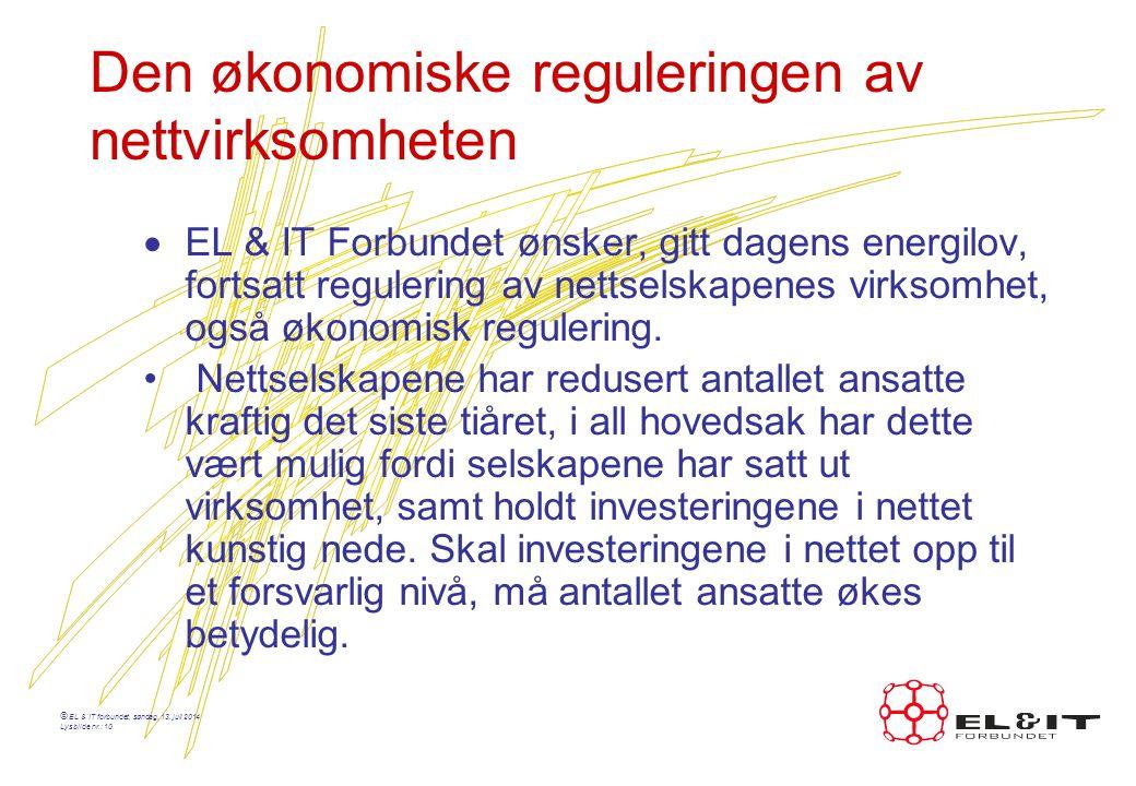 © EL & IT forbundet, søndag, 13.