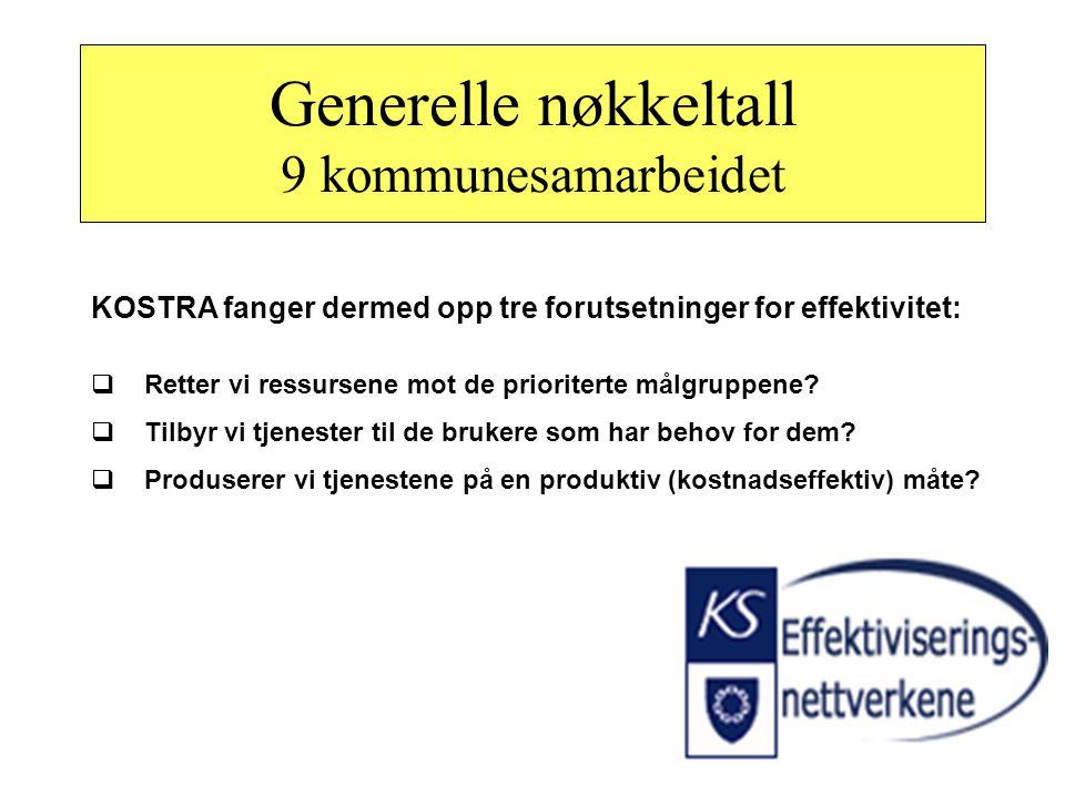 Definisjoner effektivitet : Prioriteringseffektivitet – ressursfordeling mellom tjenesteområder for å nå overordnede politiske mål og prioriteringer K