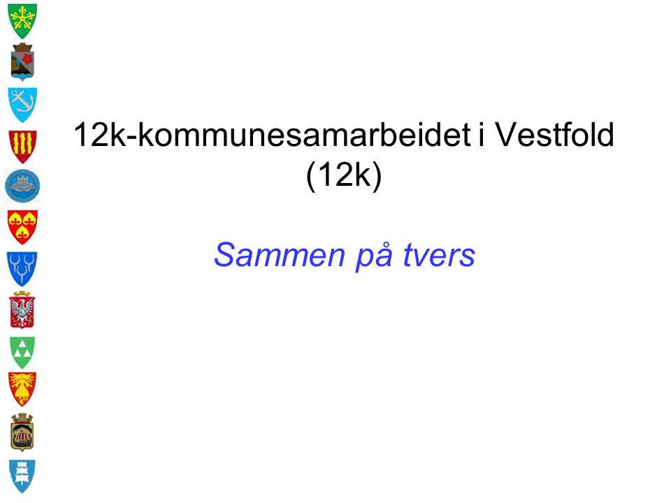 12k-kommunesamarbeidet i Vestfold (12k) Sammen på tvers