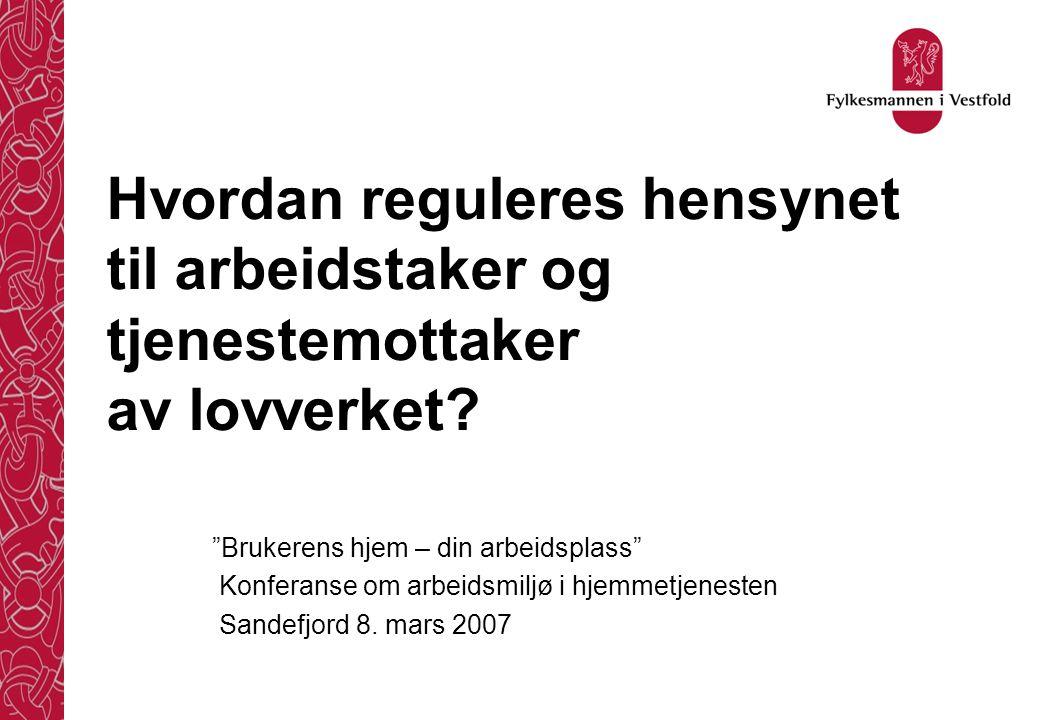 Bakgrunn - I Noen trekk fra historien Diakonisser/menighetspleie Husmorvikarer og samaritter Tønsberg..