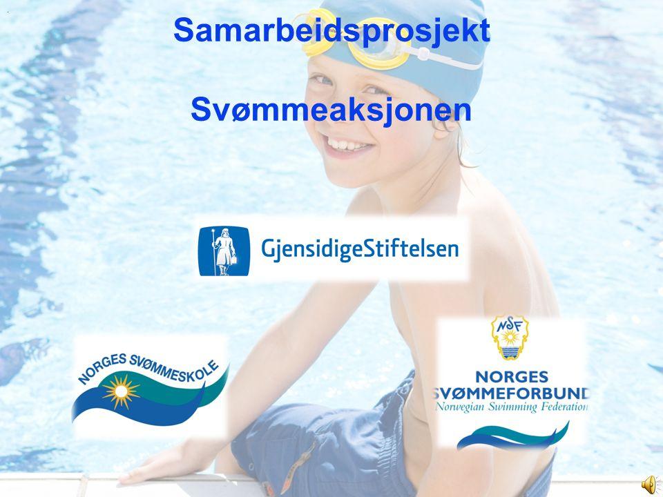 Samarbeidsprosjekt Svømmeaksjonen.