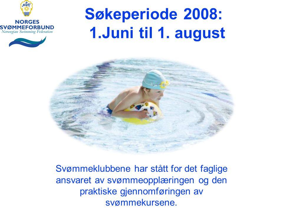 Søkeperiode 2008: 1.Juni til 1.