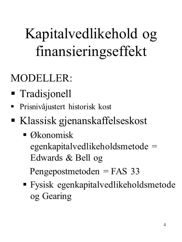 15 Eks.: Regnskapsføring av verdistigning (1)
