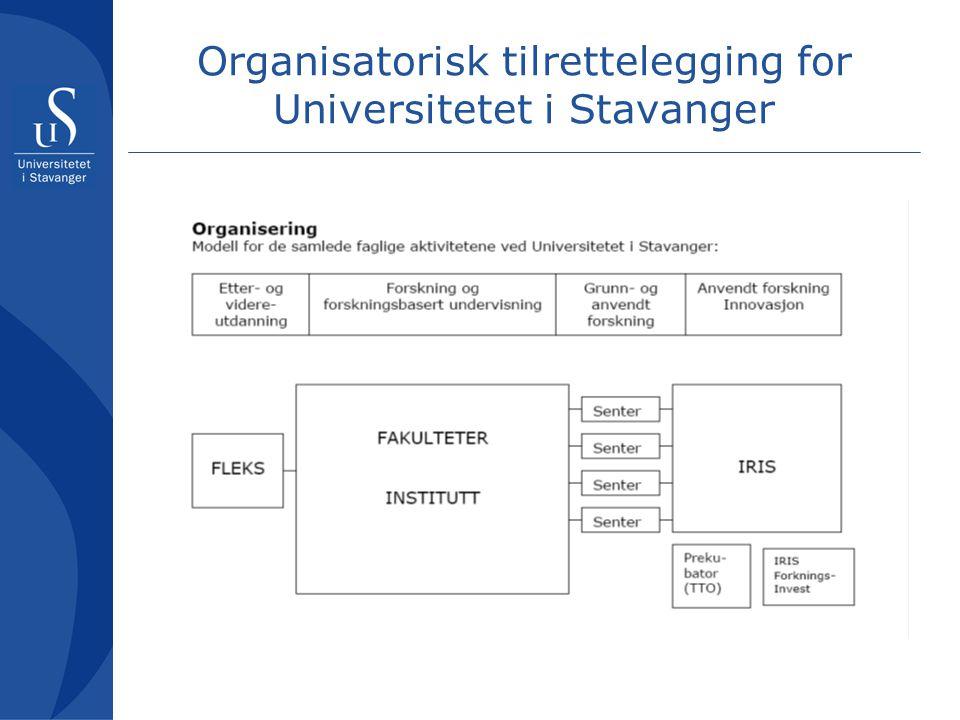 Tilrettelegging for studentene Studentbyen Stavanger Vi trenger flere studenter.