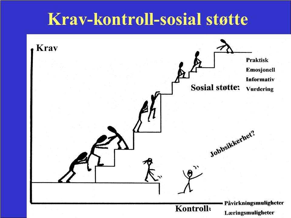 Aslaug Mikkelsen 2003 Krav-kontroll-sosial støtte Krav
