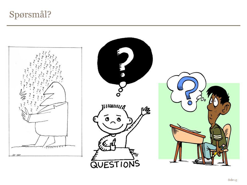Spørsmål Side 15