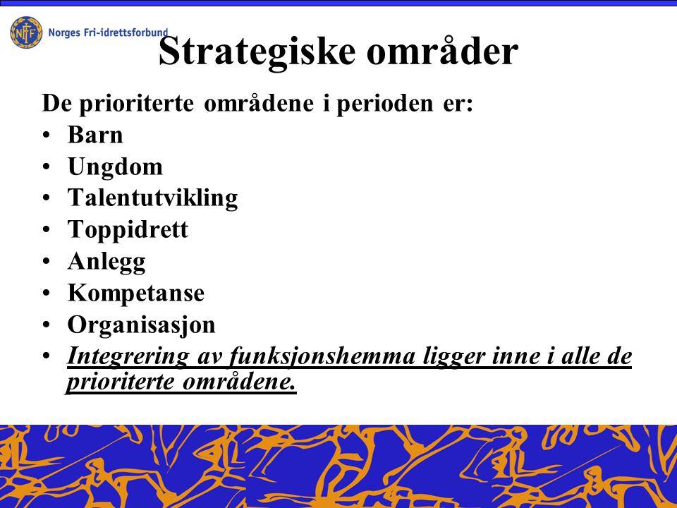 Ansvarsfordeling Sentralleddet Hovedmål Norsk friidrett skal ha en god og tydelig ansvarsfordeling.