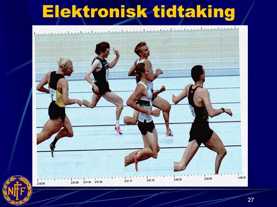 Elektronisk tidtaking
