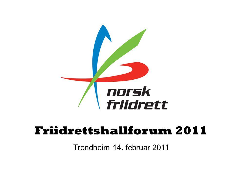 Friidrettshallforum 2011 Trondheim 14. februar 2011