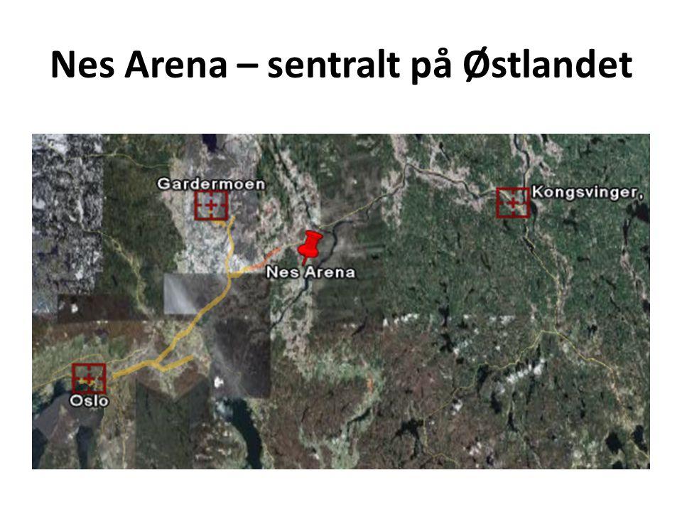 Nes Arena – sentralt på Østlandet