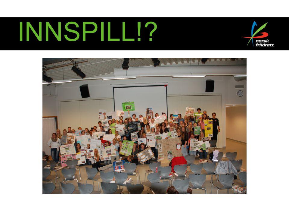 INNSPILL!