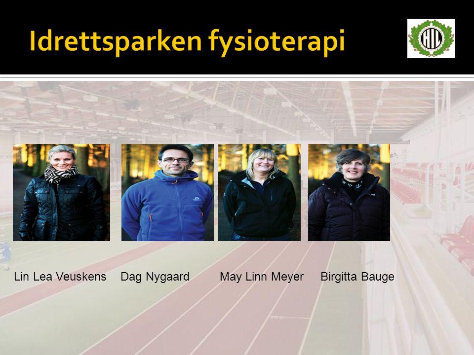 Lin Lea Veuskens Dag Nygaard May Linn Meyer Birgitta Bauge