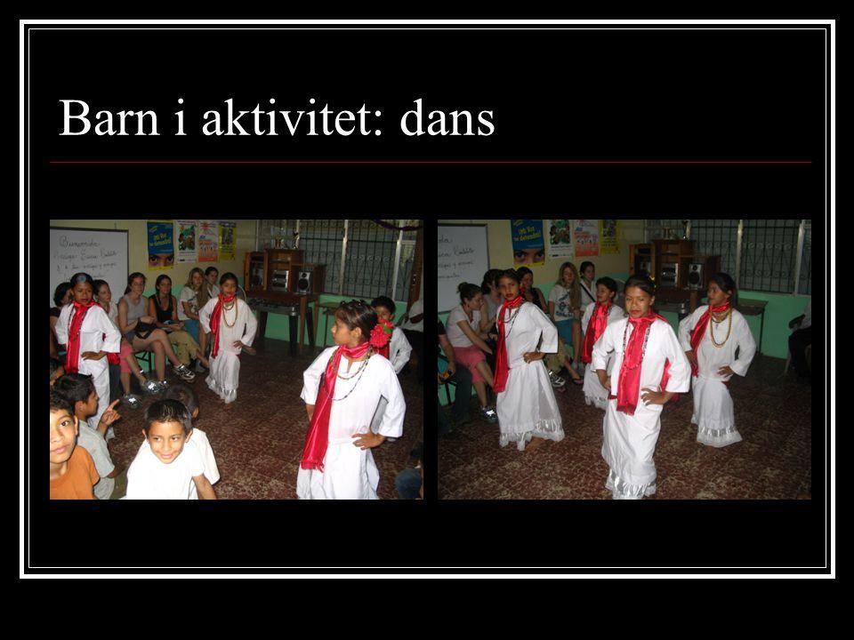 Barn i aktivitet: dans