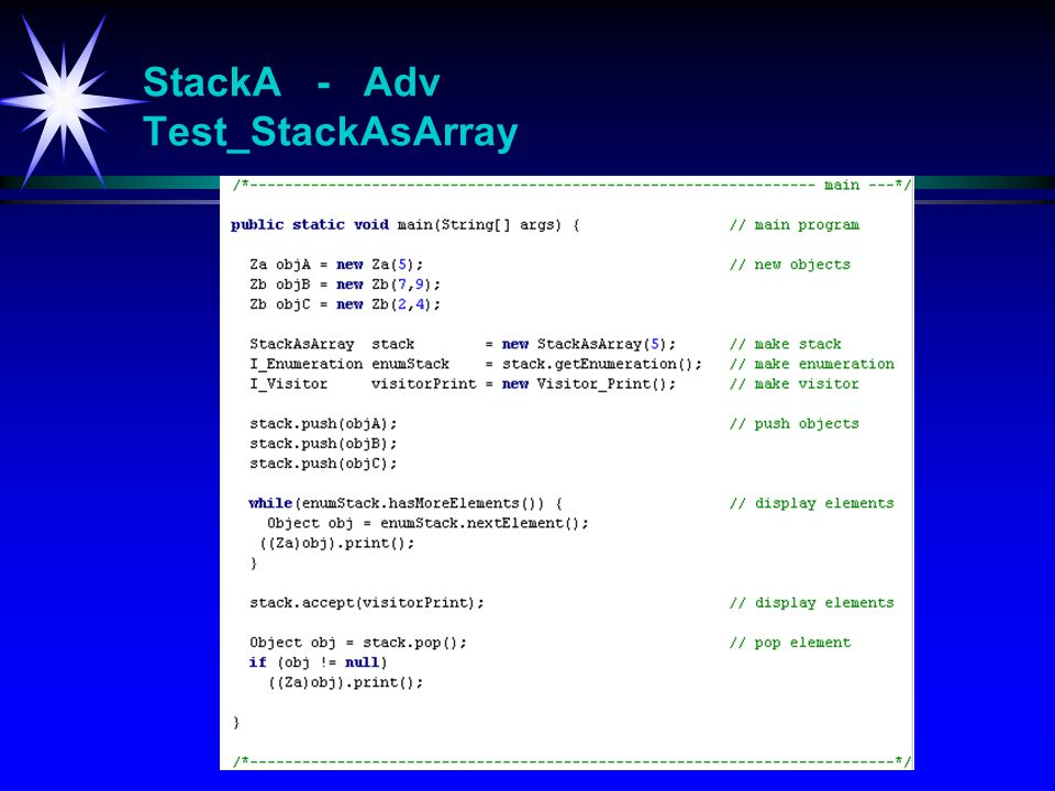 StackA - Adv Test_StackAsArray