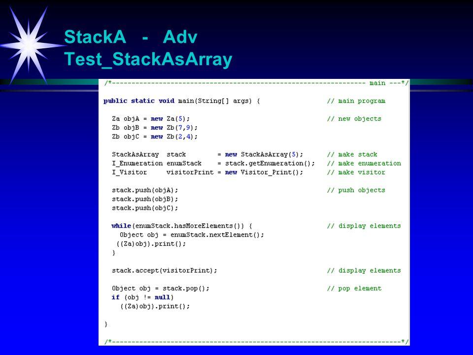 StackA - Adv Test_StackAsArray