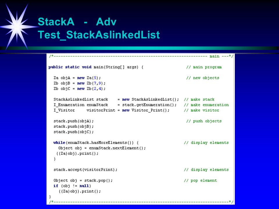 StackA - Adv Test_StackAslinkedList