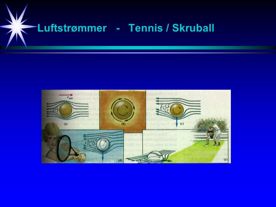 Luftstrømmer - Tennis / Skruball