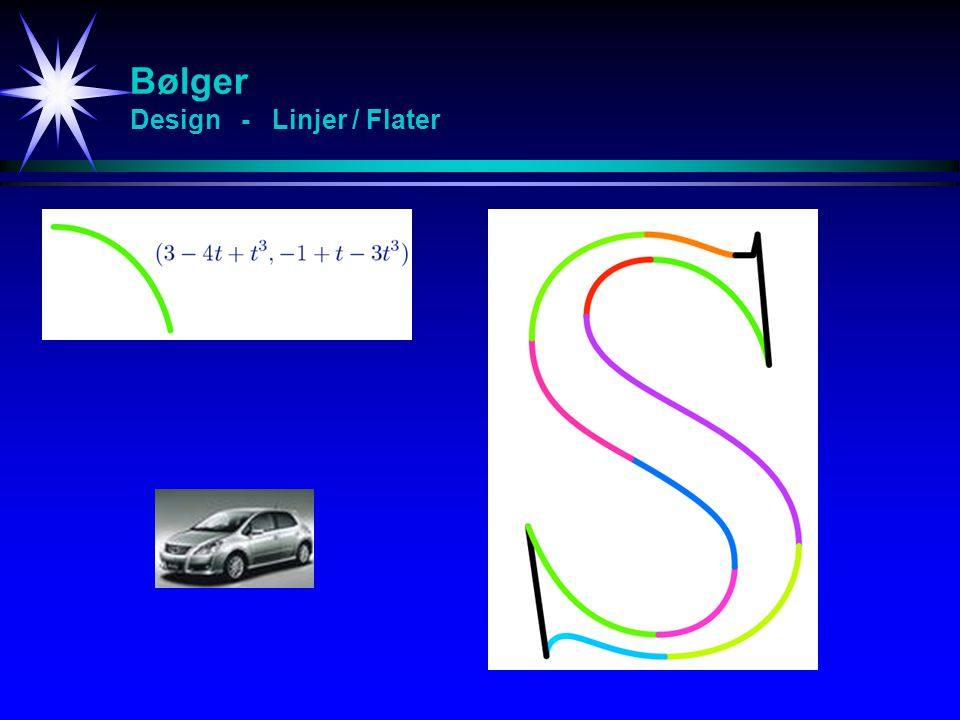 Bølger Design - Linjer / Flater