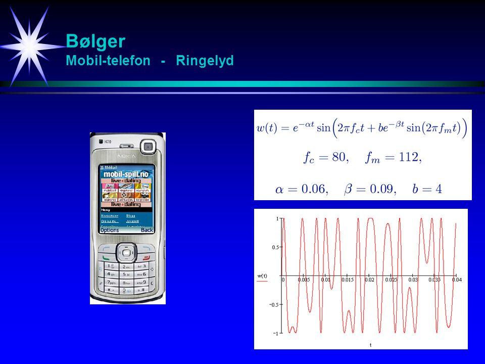 Bølger Mobil-telefon - Ringelyd