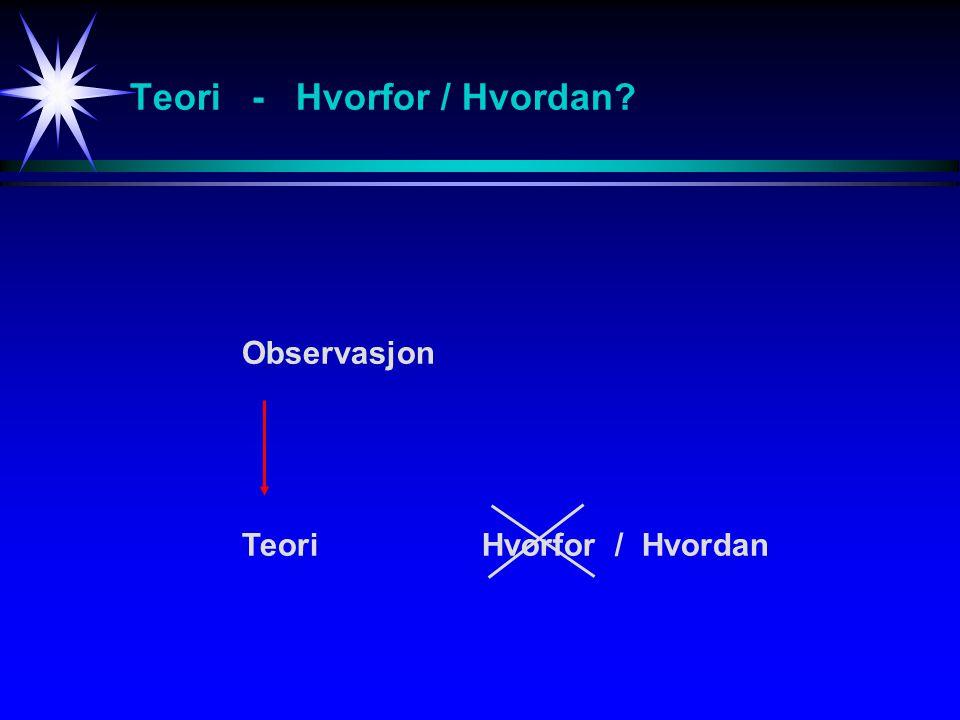 Naturvitenskap - Fysikk Rasjonell og logisk tenkning - Bevis for Bell's teorem