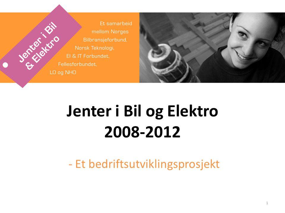 Jenter i Bil og Elektro 2008-2012 - Et bedriftsutviklingsprosjekt 1