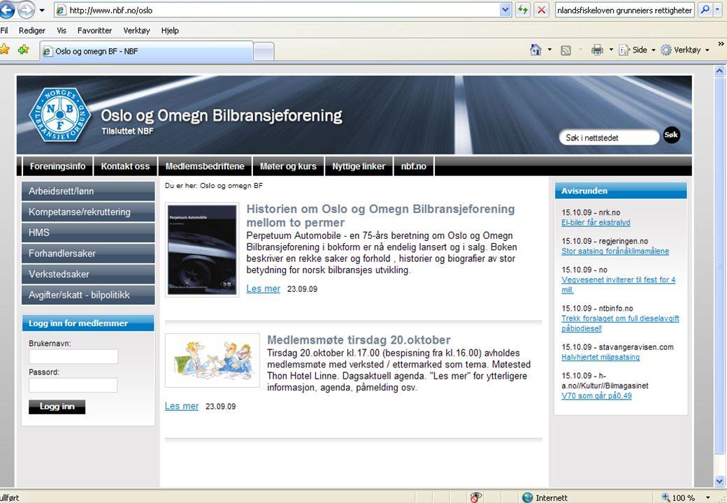 Oslo og Omegn Bilbransjeforening Medlemsmøte 20.oktober 2009 Design Pilot 09 Design Pilot 09 er et samarbeidsprosjekt mellom Norsk Designråd, Norges Forskningsråd og Innovasjon Norge.