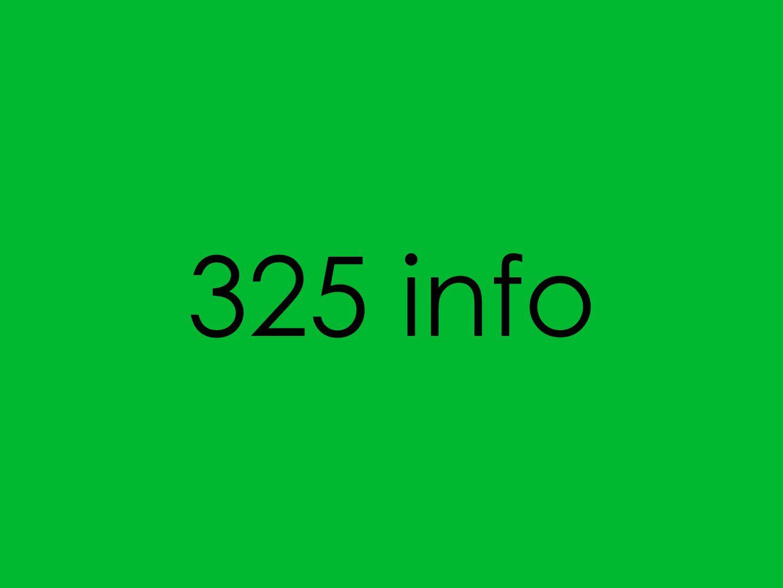 325 info