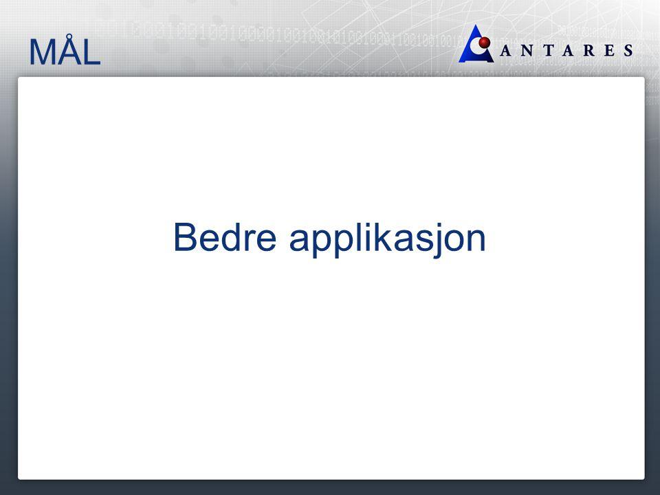 Eksempel StartSide startside = app.loggInn (Bruker.BRUKER_1); SokVedtak sokVedtak = startside.gaInnPaSokVedtak(); sokVedtak.leggInnSokeinnformasjon(Vedtak.VEDTAK_1); Resultatside resultatside = sokVedtak.sok(); resultatside.verifiserResultat(Vedtak.VEDTAK_1_Result);