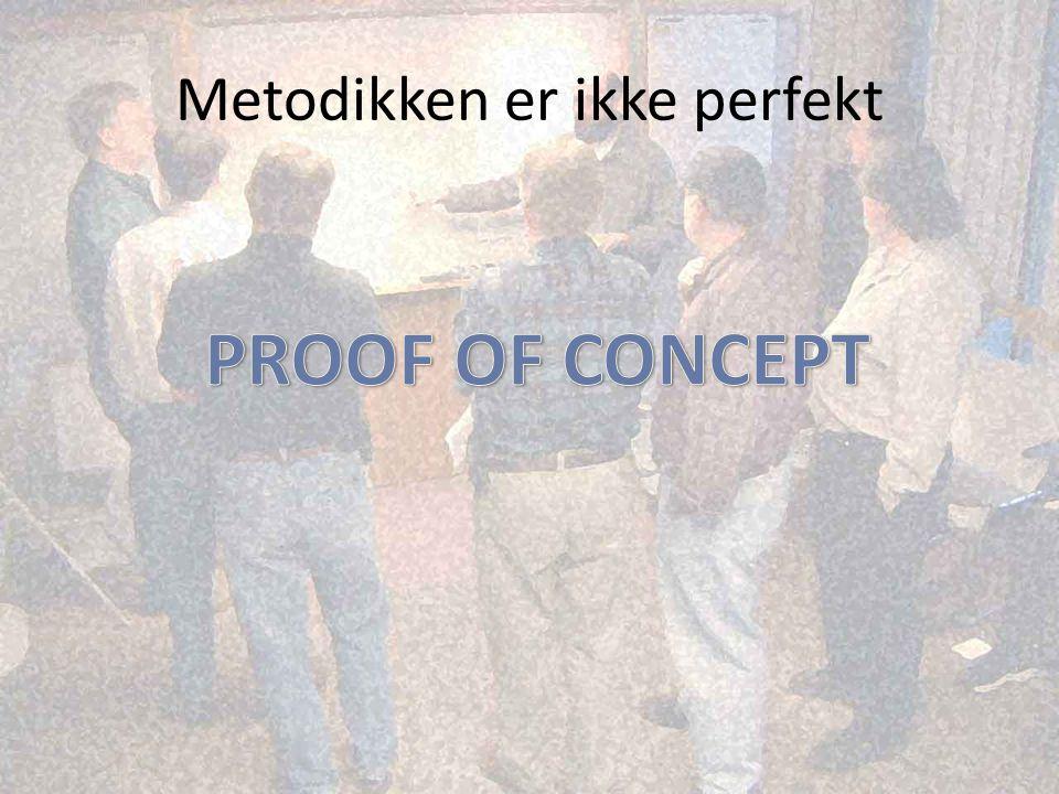 Metodikken er ikke perfekt