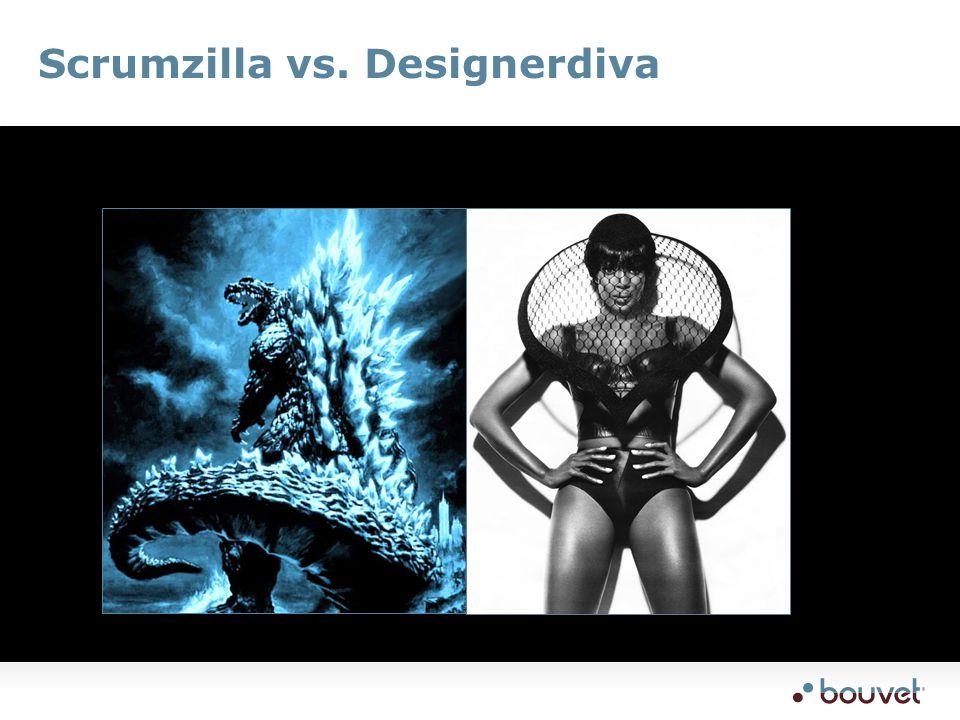 Scrumzilla vs. Designerdiva
