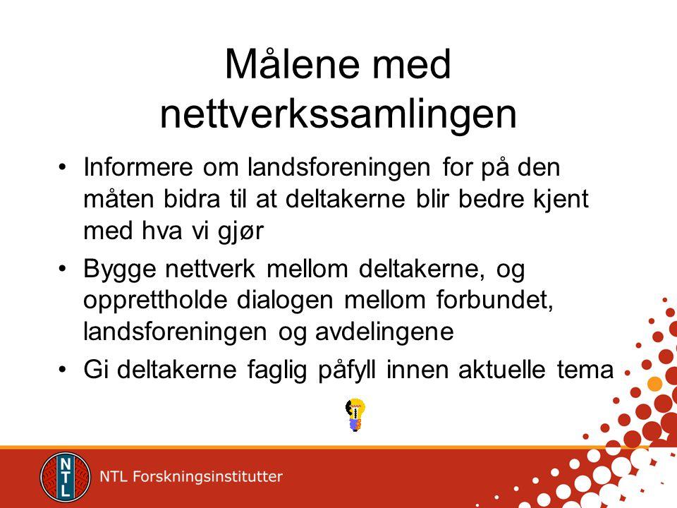 Hva skjer framover NTLs landsmøte – 3.-7.