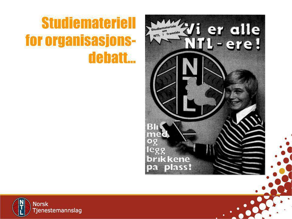 Studiemateriell for organisasjons- debatt…