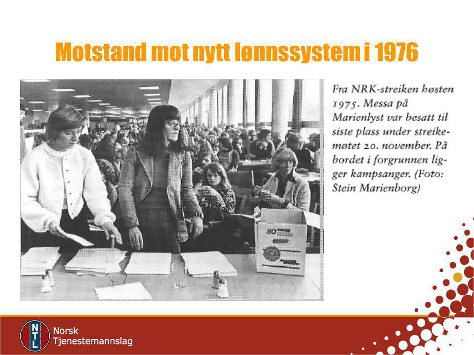 Motstand mot nytt lønnssystem i 1976