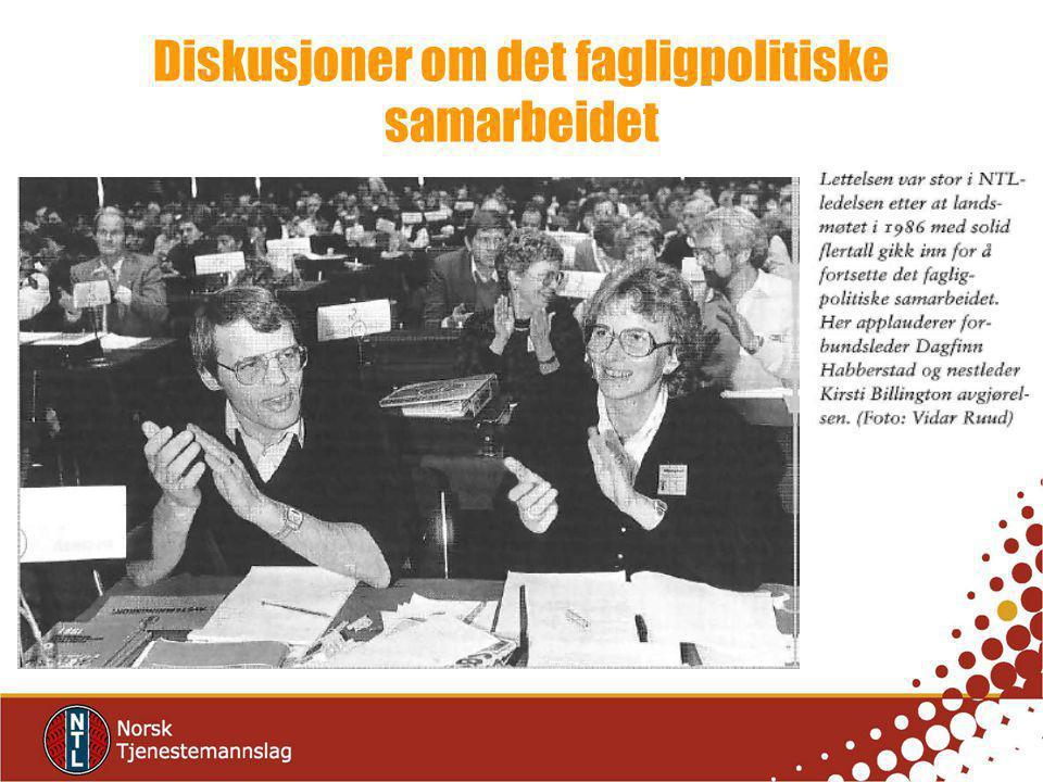 Diskusjoner om det fagligpolitiske samarbeidet